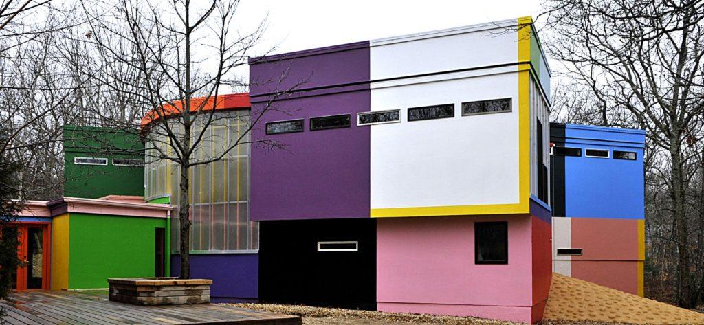 Bioscleave House (Lifespan Extending Villa), Exterior