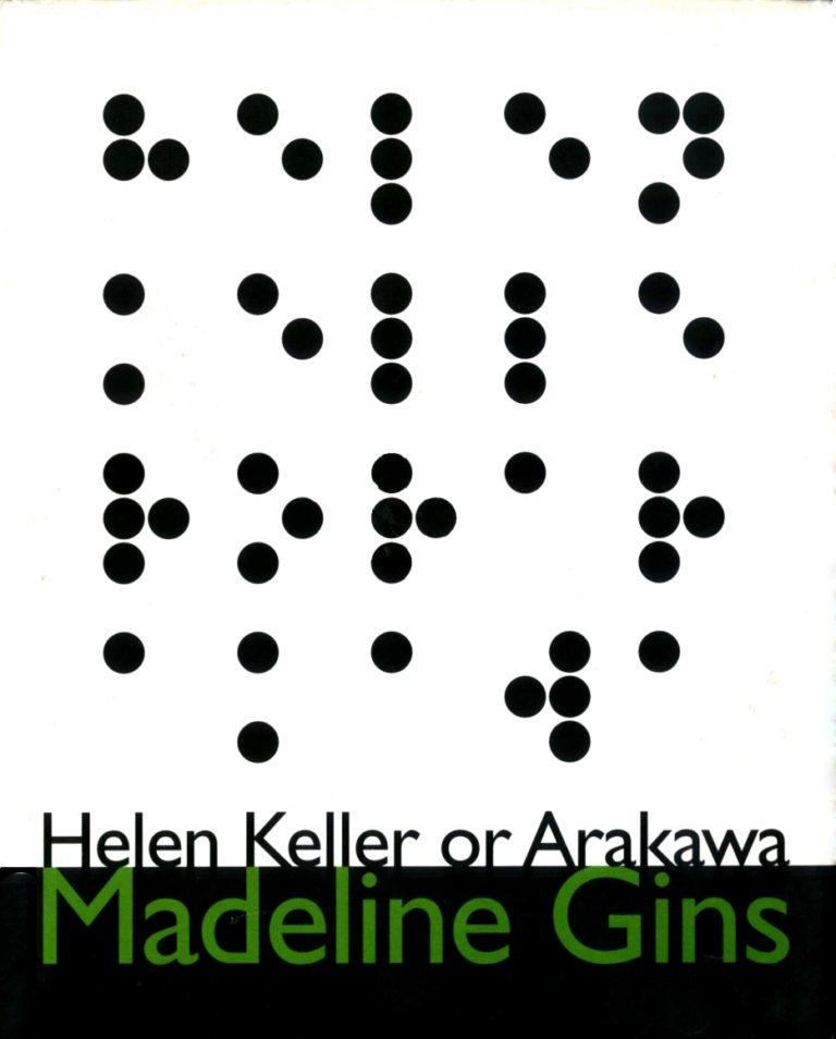 Helen Keller or Arakawa, Burning Books, Santa Fe, 1994