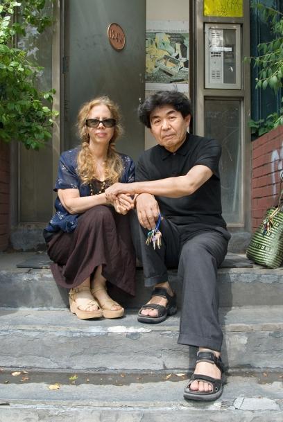 Arakawa and Madeline Gins at 124 West Houston Street, New York, 2007
